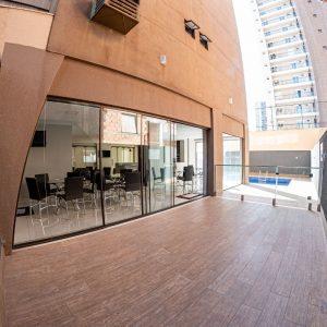 Edifício Sierra Nevada interior e exterior fotos